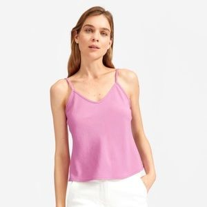 Everlane Cami Top Japanese Goweave Orchid 0 XS S